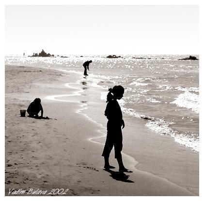 """фото """"Девочка и море"""" метки: жанр,"""