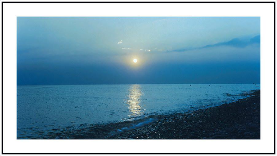 """фото """"Холодное летнее солнце"""" метки: пейзаж, вода, закат"""