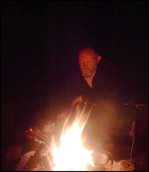 "photo ""The Fire Keeper"" tags: genre, portrait, man"