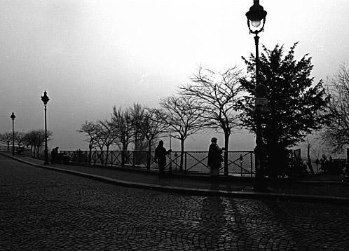 "фото ""Three lamps in Paris"" метки: разное,"
