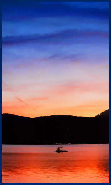 "фото ""Еще один закатик"" метки: пейзаж, закат"