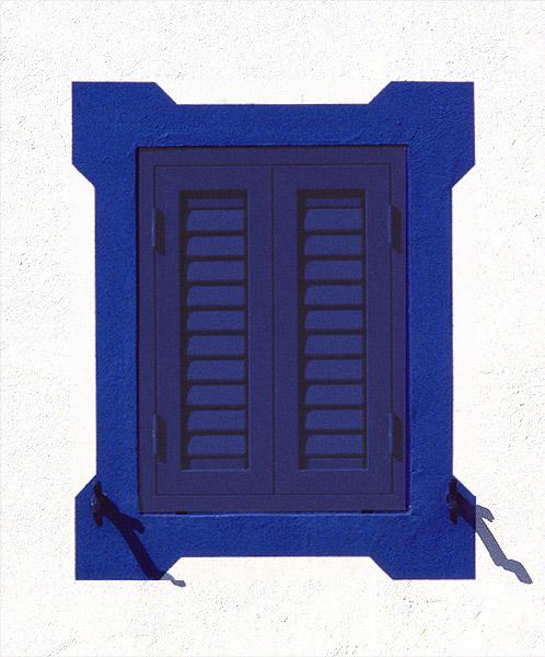 """фото """"Just a closed blue window"""" метки: абстракция, архитектура, пейзаж,"""