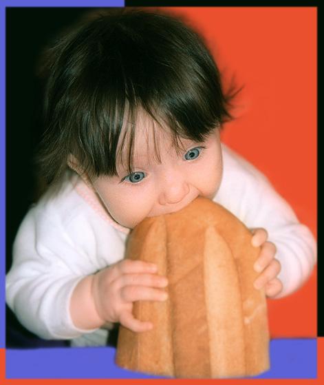 """фото """"Ну дайте же поесть"""" метки: портрет, дети"""