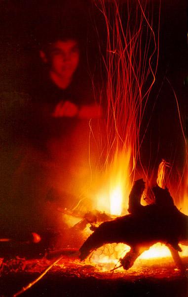 "photo ""Fire"" tags: genre, landscape, night"