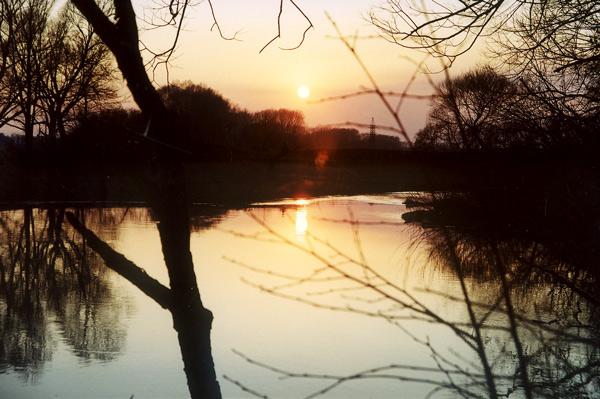 "фото ""Закат..."" метки: пейзаж, закат"