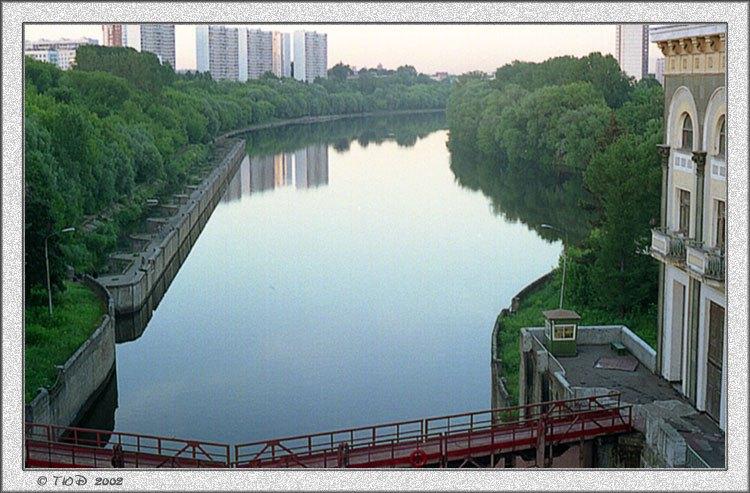 """фото """"Моя Москва под вечер"""" метки: архитектура, пейзаж, вода"""