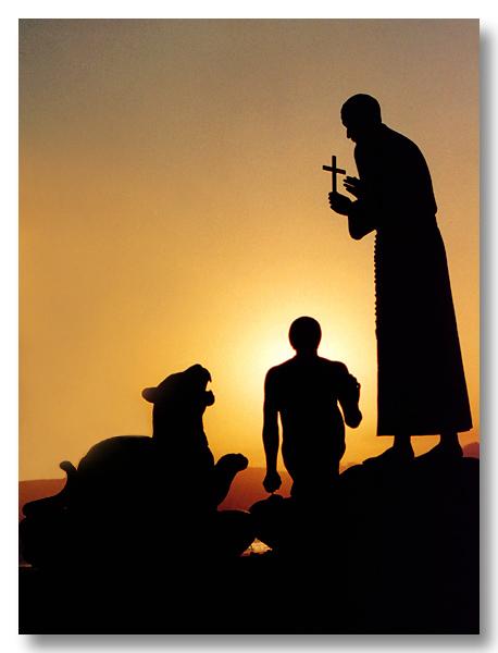 "photo ""Messenger of Faith"" tags: landscape, sunset"