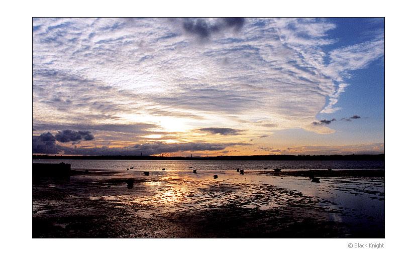 "фото ""New Day..."" метки: пейзаж, вода, закат"