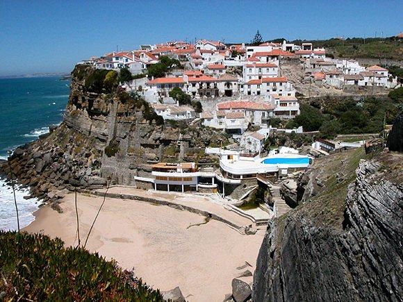 "фото ""Azenhas do Mar"" метки: архитектура, путешествия, пейзаж, Европа"