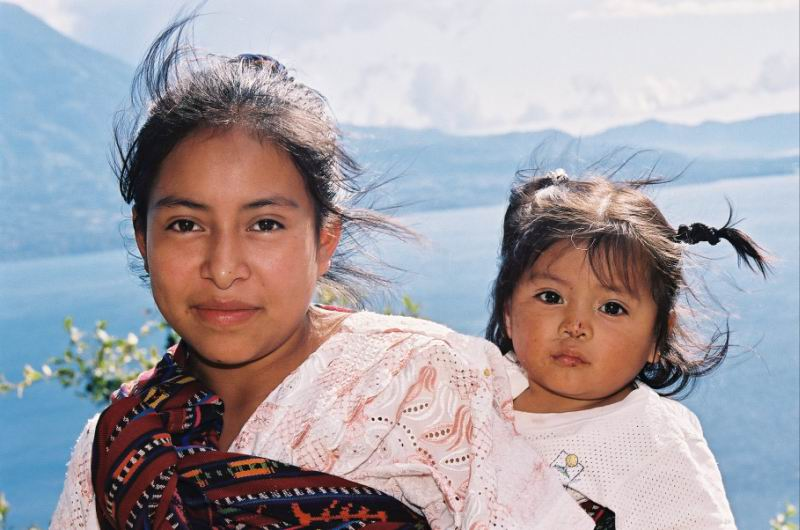 "photo ""True Indians"" tags: portrait, travel, South America"