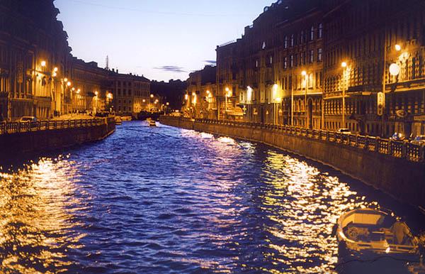 """фото """"Северная Венеция"""" метки: пейзаж, путешествия, Европа, ночь"""