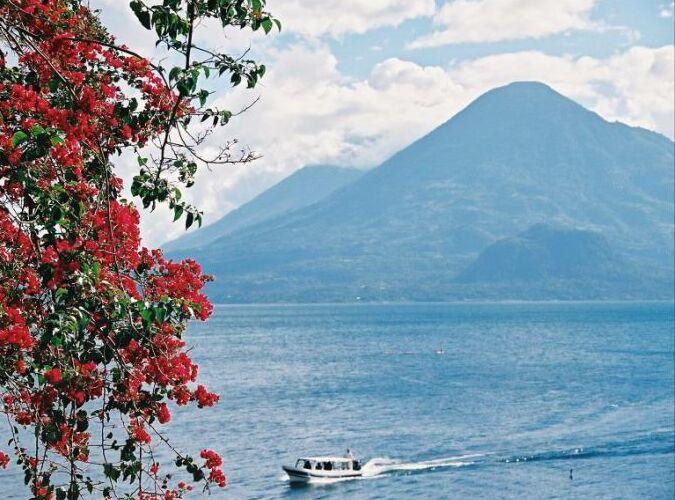 "фото ""Горное озеро Атитлан"" метки: пейзаж, природа,"