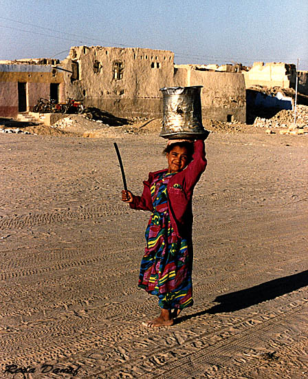 "photo ""Girl from the Oasis"" tags: travel, portrait, Africa, children"