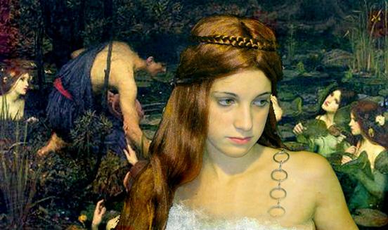 """фото """"Girl by a pond 2"""" метки: разное, фотомонтаж,"""
