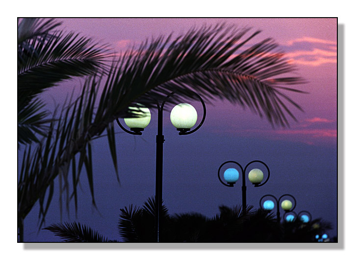 "photo ""Warm evening"" tags: landscape, architecture, sunset"