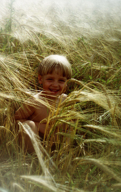 "photo ""... Ваня Иванов."" tags: portrait, nature, children, flowers"
