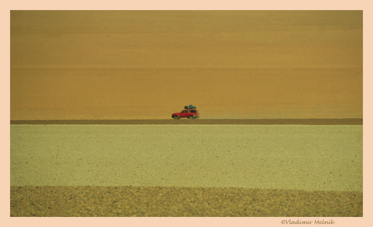 """фото """"Красный несущийся в бескрайность..."""" метки: путешествия, пейзаж, Южная Америка"""