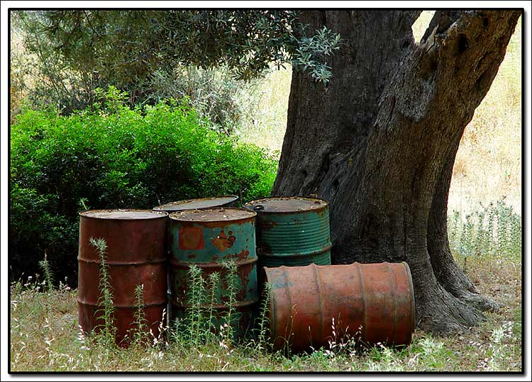 "photo ""Barrels"" tags: still life, misc.,"