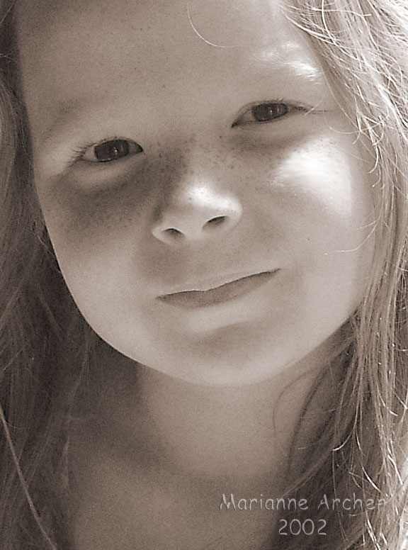 "photo ""Maisie"" tags: portrait, children"