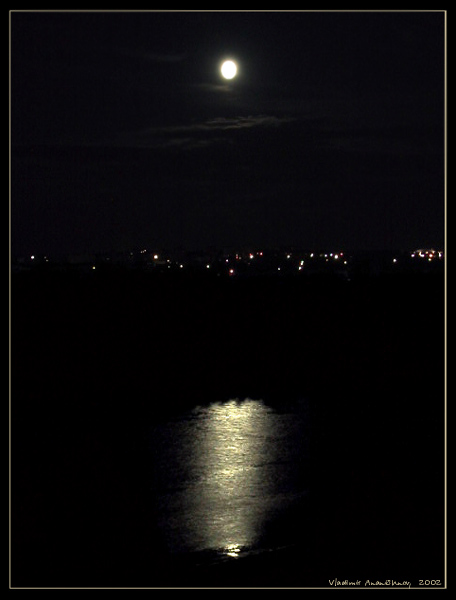 "photo ""Night"" tags: landscape, night, water"