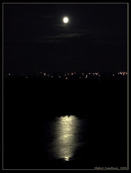 """фото """"ночь"""" метки: пейзаж, вода, ночь"""