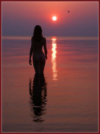 "photo "".....164"" tags: nude, landscape, sunset"