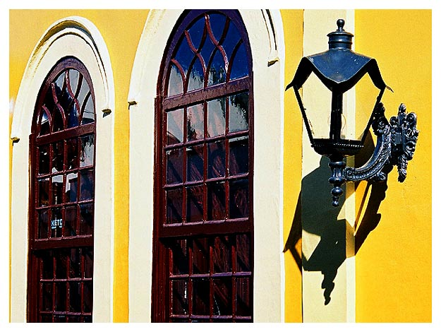 "photo ""Antique yellow"" tags: architecture, misc., landscape,"