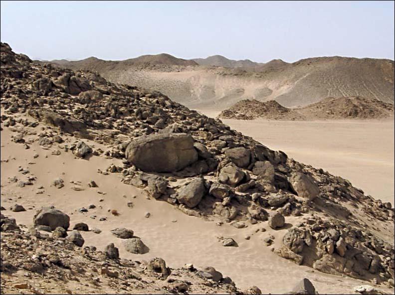 """фото """"Аравийская пустыня - 2"""" метки: путешествия, фотомонтаж, Африка"""