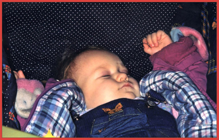 "photo ""Sleeping child"" tags: portrait, children"
