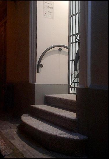 "фото ""Nightly Entrance"" метки: архитектура, пейзаж, ночь"