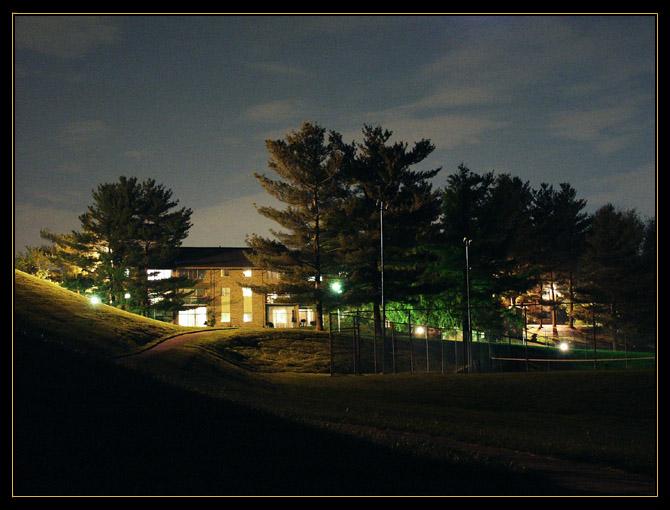 "фото ""Midnight in the village"" метки: пейзаж, природа, ночь"