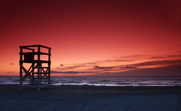 "photo ""Endless Summer"" tags: landscape, sunset, water"