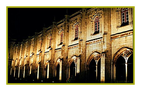 "фото ""Monastery"" метки: архитектура, пейзаж, ночь"