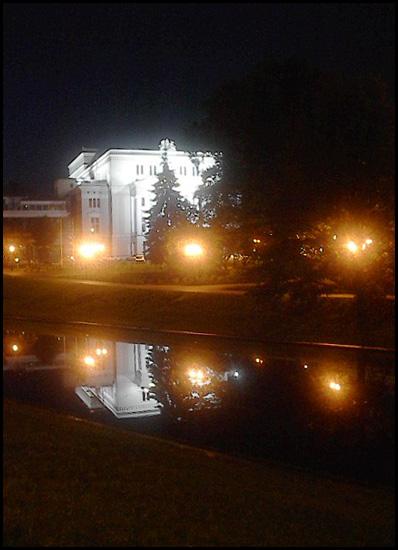 """фото """"Opera House at Night"""" метки: архитектура, пейзаж, ночь"""