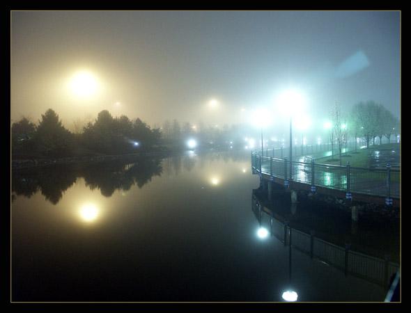 """фото """"Midnight on planet of thousand moons"""" метки: пейзаж, разное, ночь"""