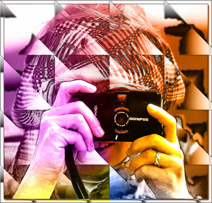 "photo ""The Photographer"" tags: montage, abstract,"