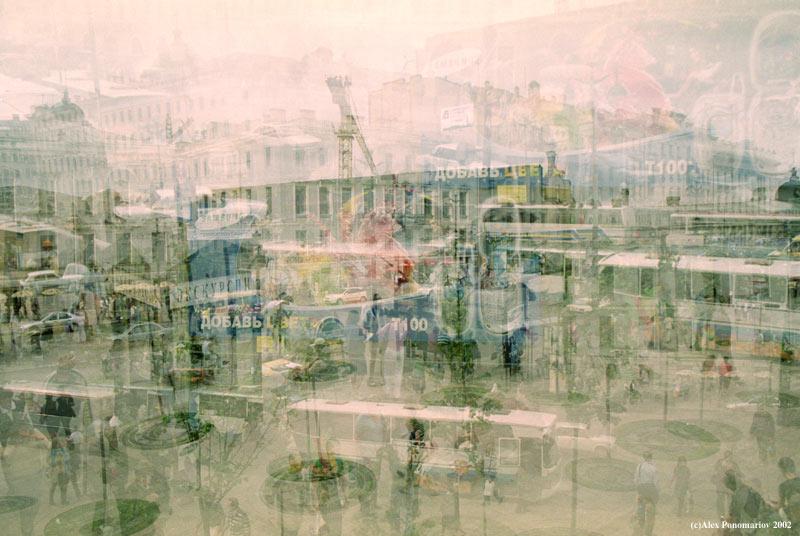 """фото """"86400 секунд из жизни одного города (Серия """"Город"""" метки: архитектура, разное, пейзаж,"""