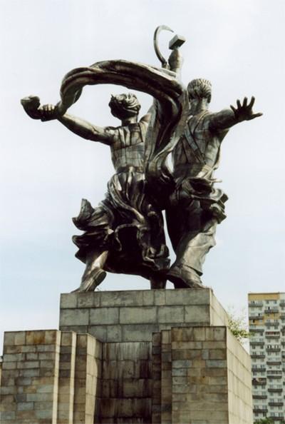 "фото ""Коммунизм - вид сзади"" метки: архитектура, репортаж, пейзаж,"