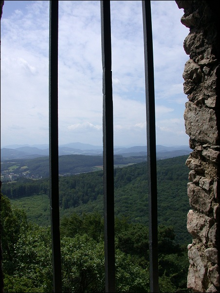 "photo ""View from a Jail"" tags: landscape, travel, Europe, mountains"