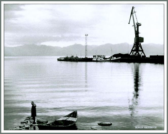 "фото ""Байкал. Раннее утро."" метки: пейзаж, вода, лето"