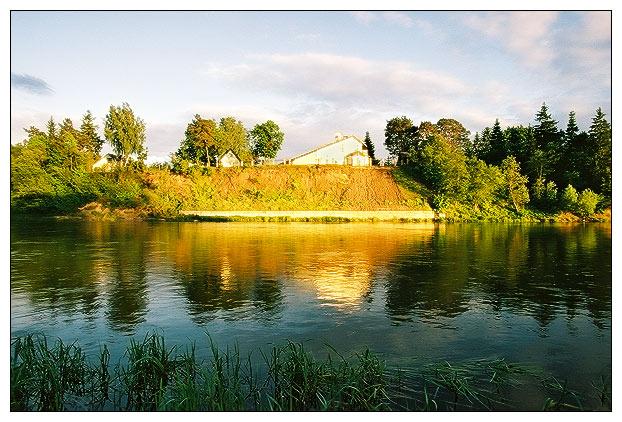 """фото """"On the river"""" метки: пейзаж,"""