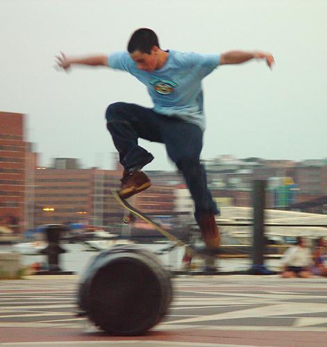 """фото """"Learning to fly?"""" метки: спорт, репортаж,"""