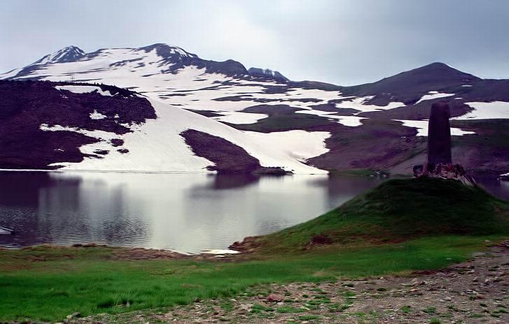 "фото ""Лето на горе Арагац (3250 м.)"" метки: пейзаж, горы, лето"