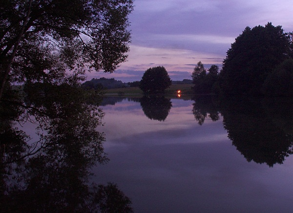 "photo ""Midsummer Night"" tags: landscape, sunset, water"