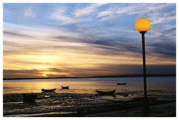 "фото ""A Setting Sun"" метки: пейзаж, вода"