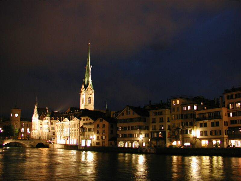 "photo ""Swiss`s night"" tags: travel, landscape, Europe, night"