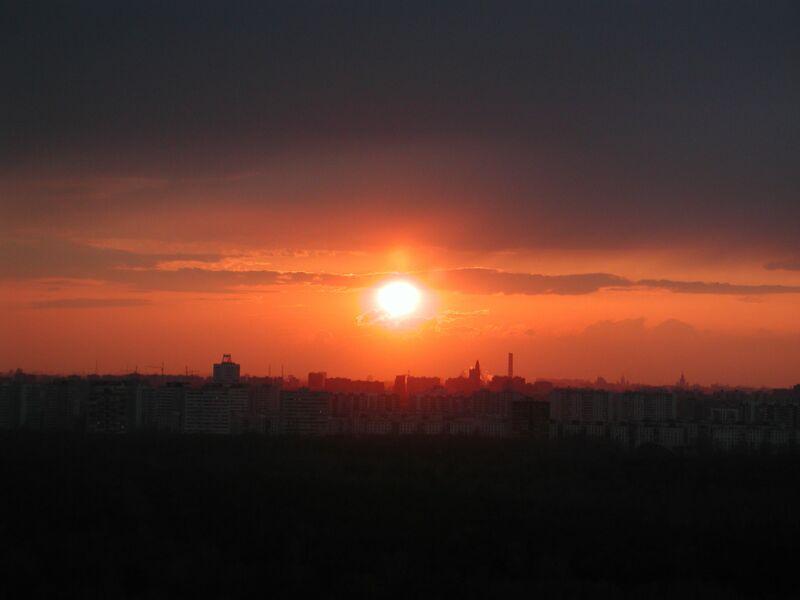 """фото """"В лучах заката"""" метки: пейзаж, архитектура, закат"""