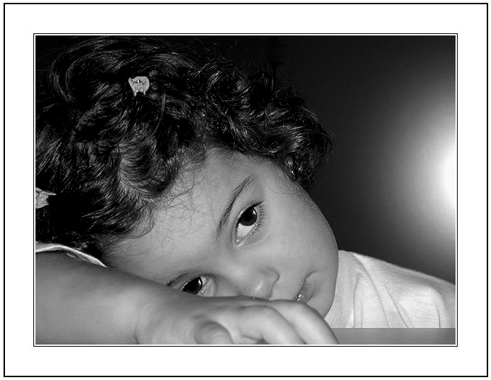 "photo ""The sad eyes of a Child."" tags: portrait, children"