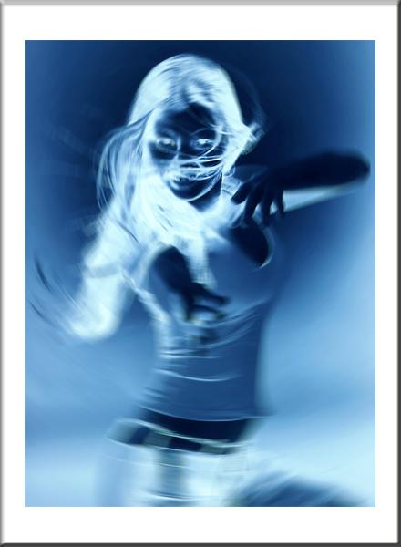 """photo """"Blue movements"""" tags: portrait, woman"""