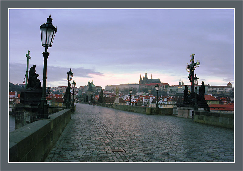 "photo ""While the city still asleep (3)"" tags: travel, Europe"
